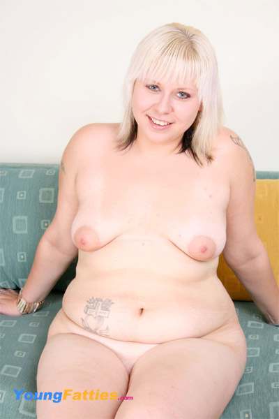 blonde fatty