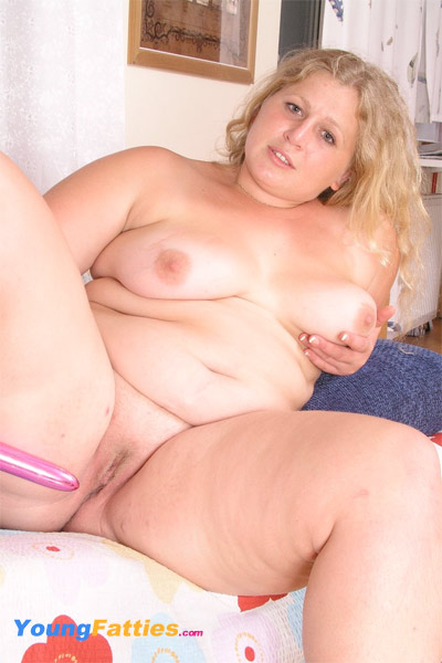 blonde big girl